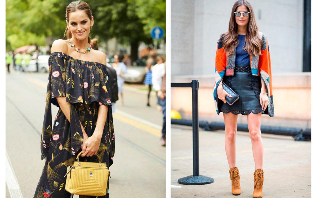 Поиск природного стиля. Модные образы для женщин.
