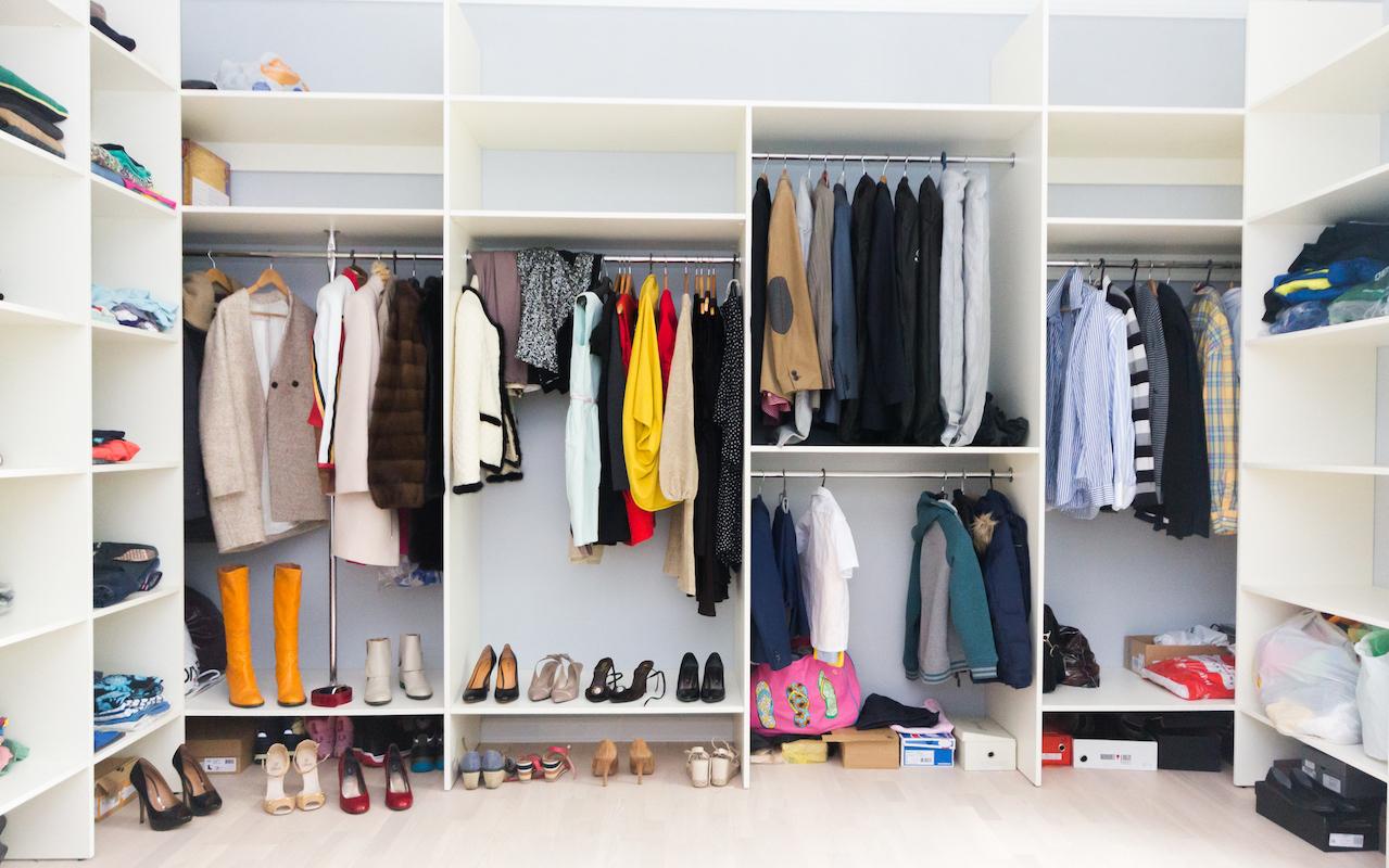 Подготовка к разбору гардероба