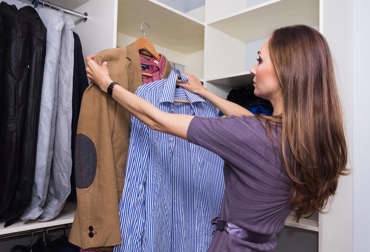 Разбор мужского гардероба