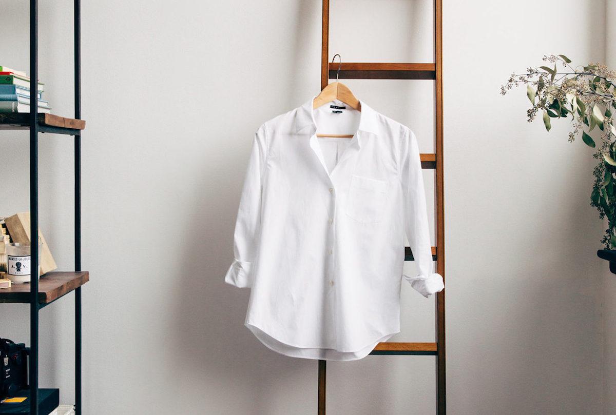 Как выбрать белую рубашку